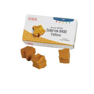 Original Xerox 108R00607 solid ink sticks - 3 yellow