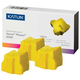 Compatible Xerox 108R00608 solid ink sticks - 3 yellow