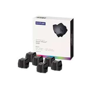 Compatible Xerox 108R00605 solid ink sticks - 6 black