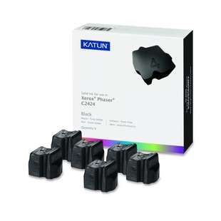 Compatible Xerox 108R00664 solid ink sticks - 6 black