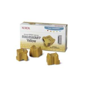 Original Xerox 108R00725 solid ink sticks - 3 yellow