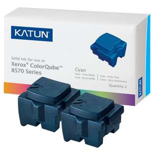 Compatible Xerox 108R00926 solid ink sticks - 2 cyan
