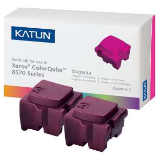 Compatible Xerox 108R00927 solid ink sticks - 2 magenta