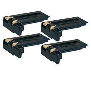 Compatible Xerox 106R01409 toner cartridge - black cartridge - 4-pack