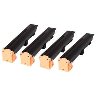 Compatible Xerox 006R01179 toner cartridge - black cartridge - 4-pack